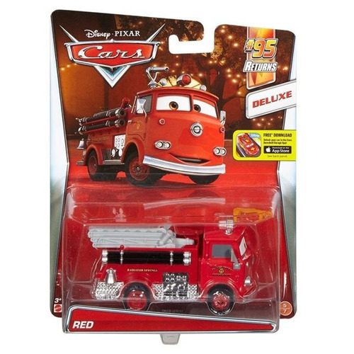 red - cars mattel  -origintoys.
