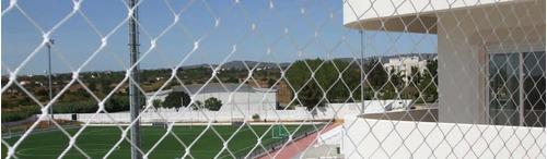 red cerramiento perimetral cancha futbol contencion pelota