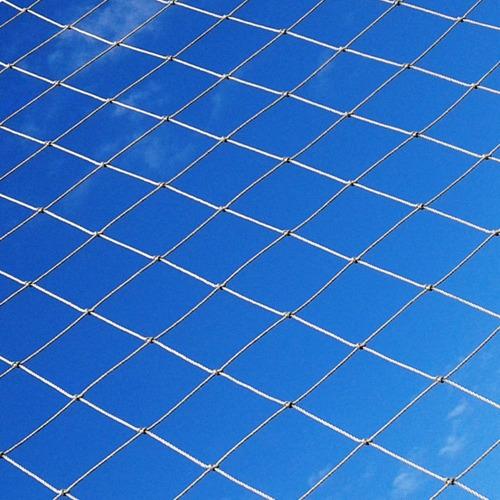 red cerramiento perimetral contencion pelota cancha futbol - importada - resistente sol y lluvia