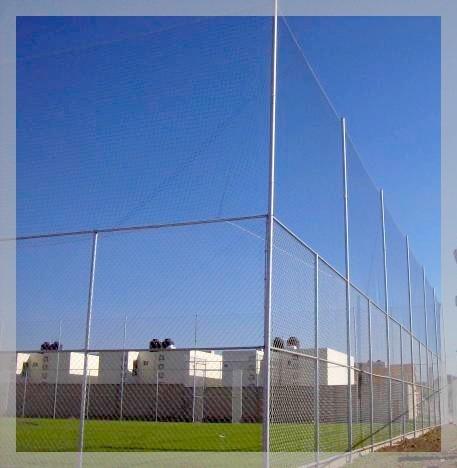 red contencion cerramiento canchas tenis hockey 5 x 5 x mt2