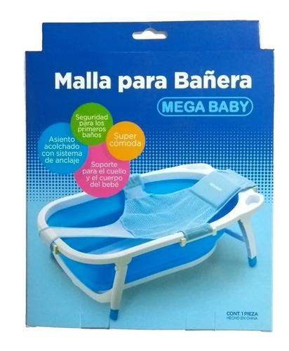 red de baño para sostener al bebe en bañeras mega baby
