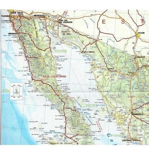 red de carreteras de mexico