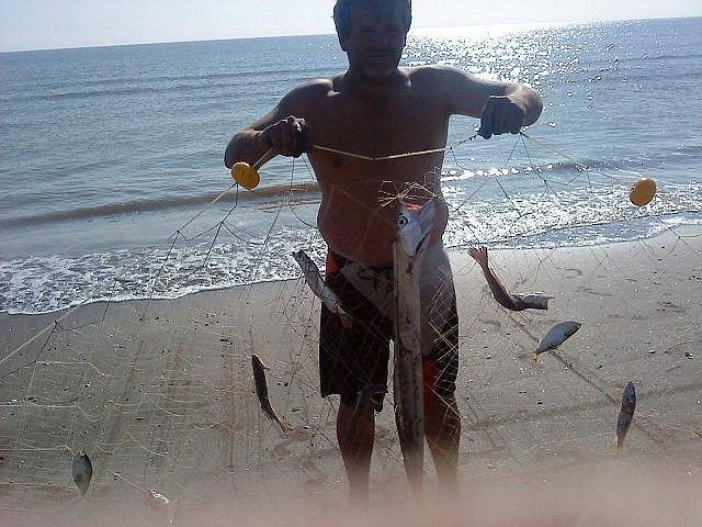 Nuru redes de pesca