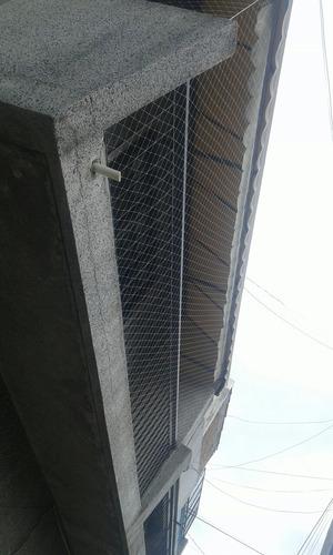 red de proteccion para balcon ventanas y lugares al vacio