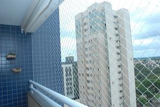 red de protección. red con kit completo balcón ventana