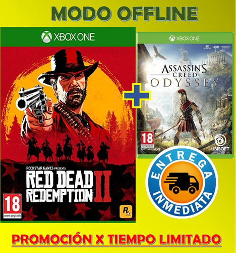 red dead 2 xbox one +one assassins creed odyss