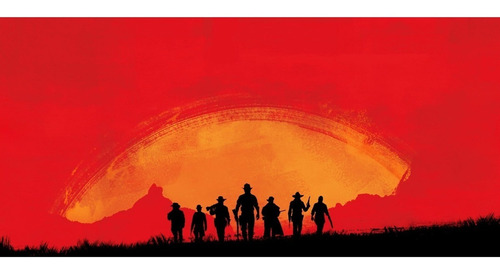 red dead redemptiom 2 - ps4