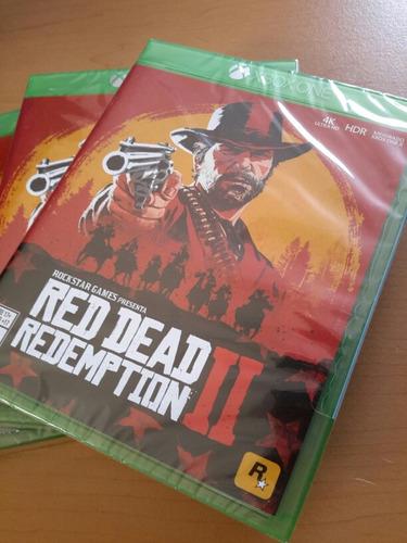 red dead redemption 2 en xbox one nuevo y sellado.
