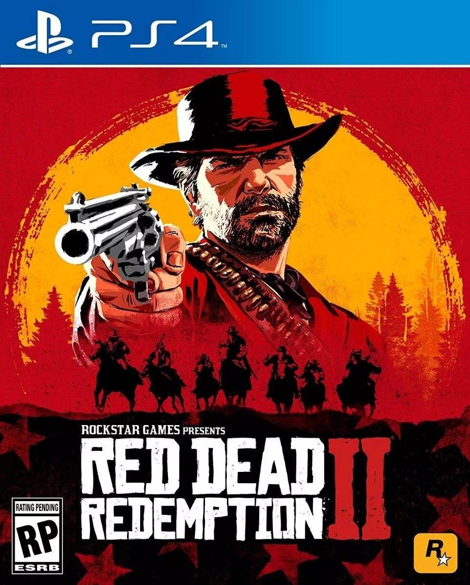 Red Dead Redemption 2 Juego Fisico Ps4 Cuotas Envio Gratis 3 800