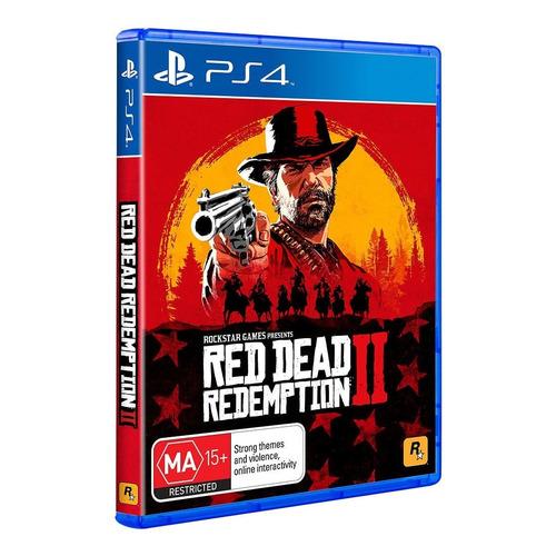 red dead redemption 2 para ps4 nuevo sellado físico origina