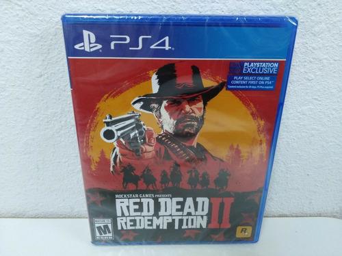 red dead redemption 2 playstation4 ps4 juego fisico original