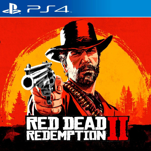 red dead redemption 2 ps4 4k fisico sellado nuevo original