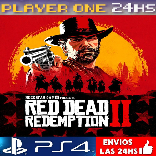 red dead redemption 2 ps4 digital 1° | envio 5' | subespañol