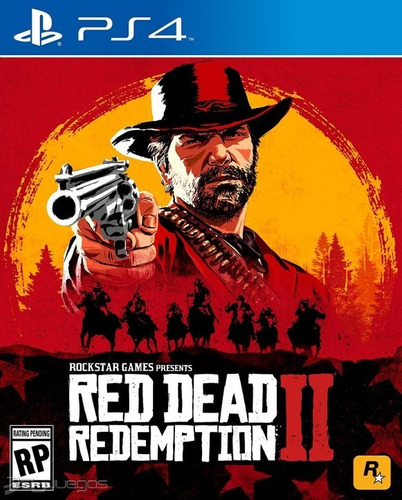 red dead redemption 2 ps4 fisico + mapa + dlc. entrega hoy