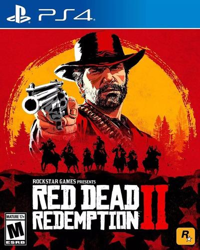 red dead redemption 2 ps4 físico sellado cuotas sin interes