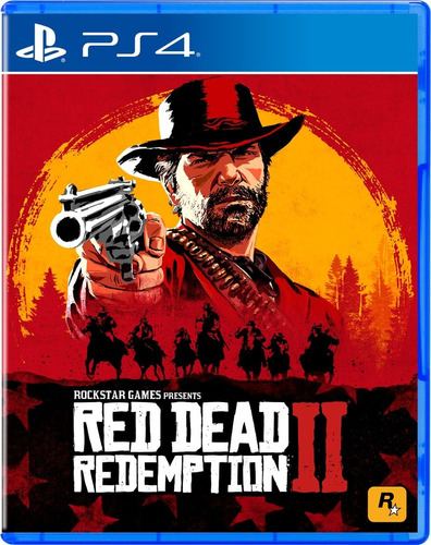 red dead redemption 2 ps4 físico sellado subt español full