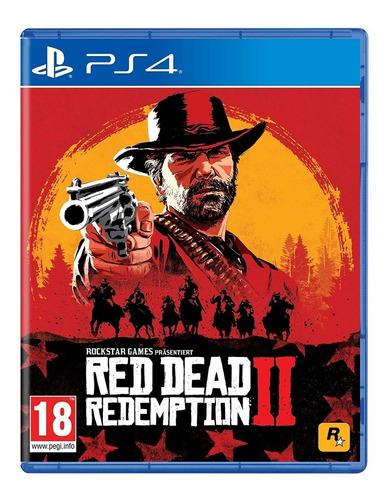 red dead redemption 2 sony ps4 juego fisico sellado cuotas