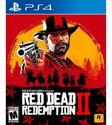 red dead redemption 2 + sound track playstation 4