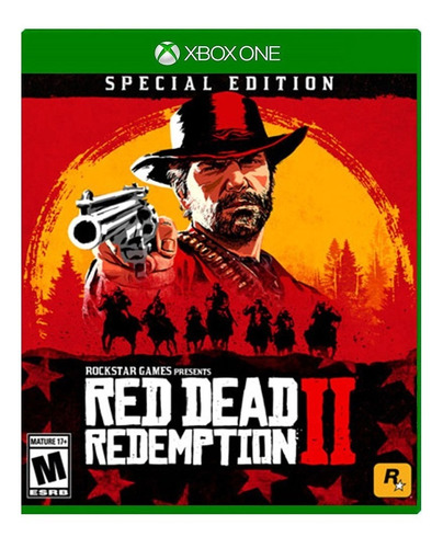 red dead redemption 2 special xbox one modo online & offline