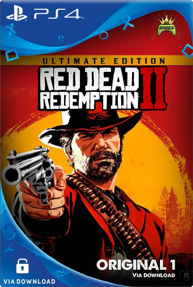 Red Dead Redemption 2 Utimate Edition Ps4 Psn Digital Cod 1