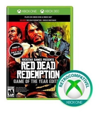 red dead redemption ed. jogo do ano (mídia física) xbox one