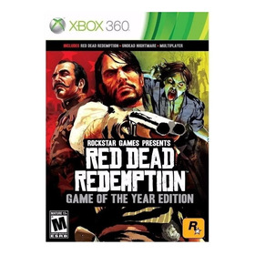 Red Dead Redemption Game Of The Year Edition Físico Xbox 360 Rockstar Games