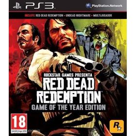 Red Dead Redemption Goty + Dlc ~ Ps3 Digital Español