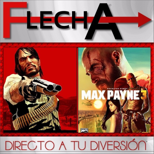 red dead redemption + max payne 3 ps3 -  combo digital | fg»