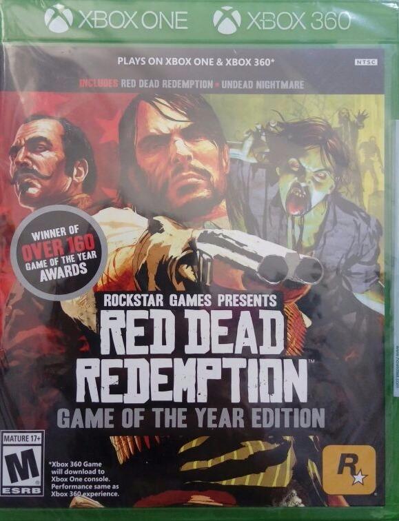 Red Dead Redemption Normal E Zumbi Xbox One E Xbox 360 Novo