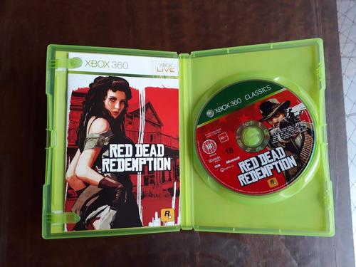 red dead redemption - original xbox 360