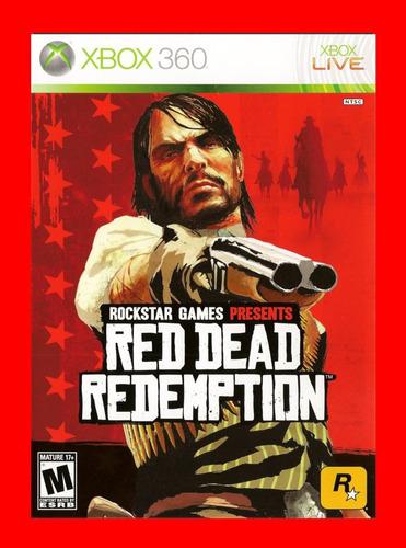 red dead redemption - xbox 360 (mídia física)