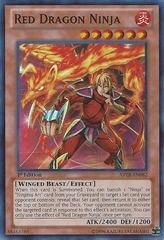 red dragon ninja - abyr-en082 - super rare unlimited