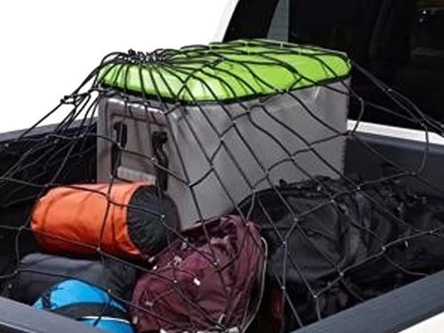 red elástica cargas baul trailer techo 110 x 160 c/ganchos