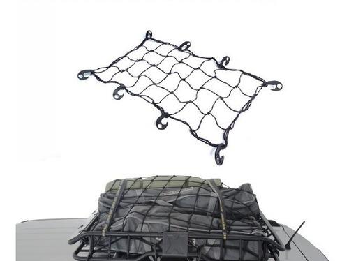 red elástica cargas baul trailer techo 70 x 90 cm 8 ganchos