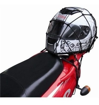 red elástica pulpo 40 x 40 con 4 ganchos metal ideal casco