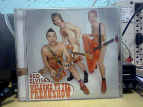 red elvises welcome to freakshow cd