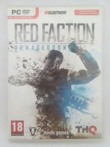 red faction armageddon - pc dvd