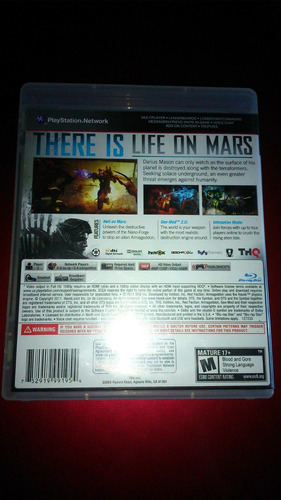 red faction armageddon ps3