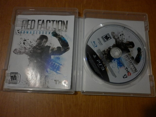 red faction armagedom - para play station 3