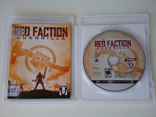 red faction guerrilla ps3 mídia física original perfeito