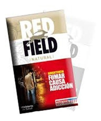 red field tabaco redfield pack x5 p/ armar natural virginia
