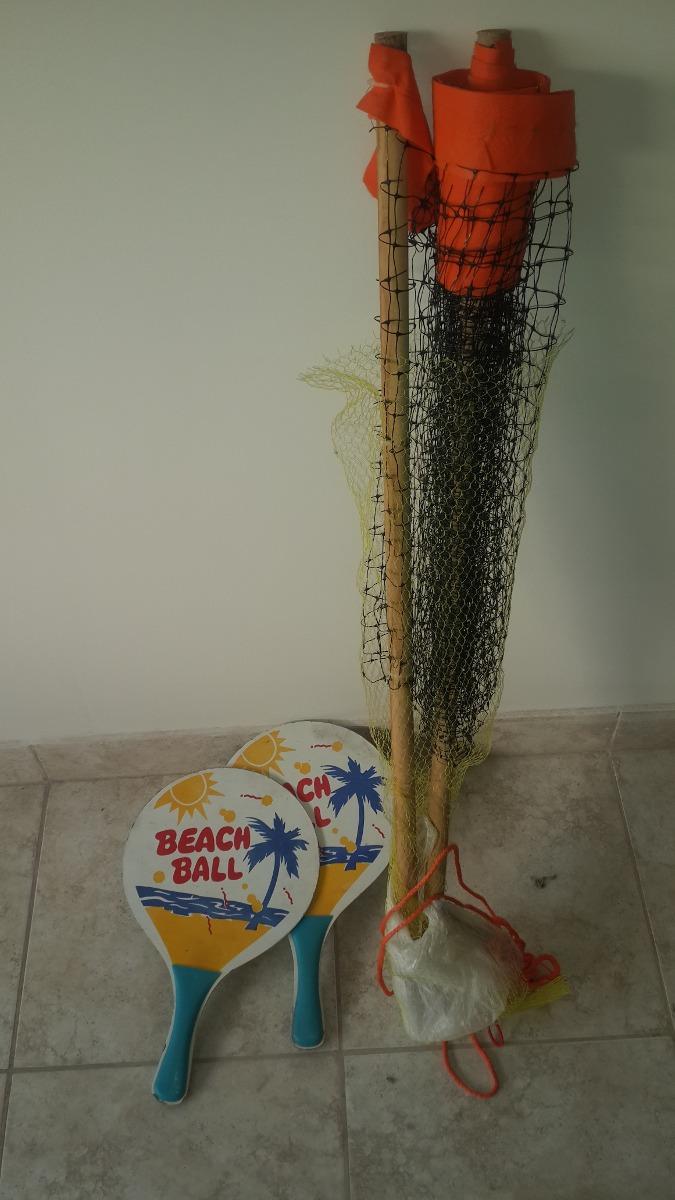 Red Futbol Tenis Tenis De Playa 2 Paletas 60000 En Mercado