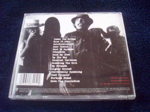 red hot chili pepers greatest hits cd