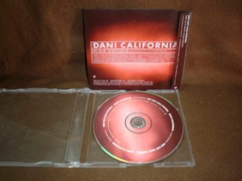 red hot chili peppers - cd single - dani california mdn