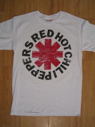 red hot chili peppers playera zotz