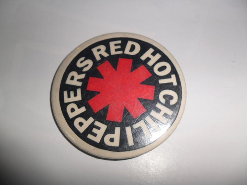 red hot chili peppers prendedor musica grupo musical