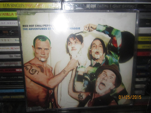 red hot chili peppers the adventures of rain cd single nuevo