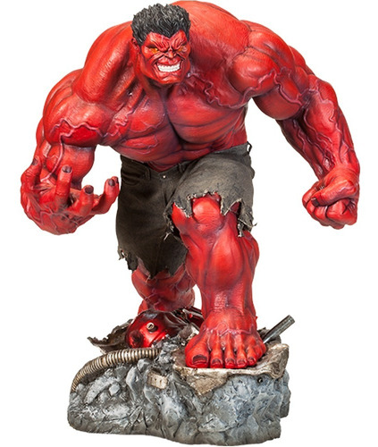 red hulk premium format - sideshow collectibles