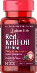 red krill oil 1000 mg (170 mg active omega-3) 30 tabletas