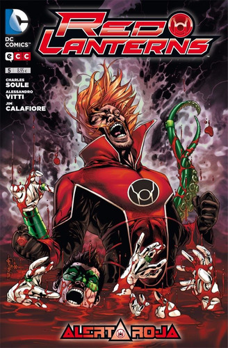 red lanterns 5 alerta roja ecc españa libro nuevo
